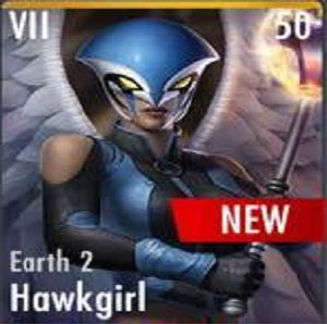 ✄ Earth 2 Hawkgirl