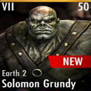 ✄ Earth 2 Solomon Grundy