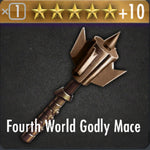 ✄ Fourth World Godly Mace