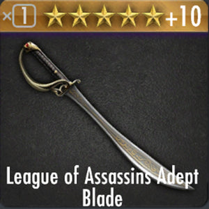 ✄ League of Assassins Adept Blade