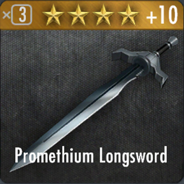✄ Promethium Long Sword