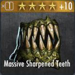 ✄ Massive Sharpened Teeth