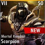 ✄ Mortal Kombat Scorpion