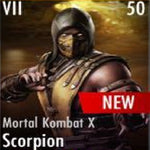 ✄ Mortal Kombat X Scorpion