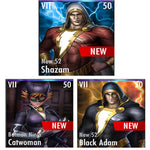 ✄ New 52 Shazam / Batman Ninja Catwoman / New 52 Black Adam