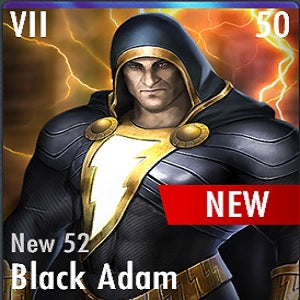 ✄ New 52 Black Adam