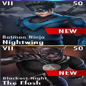 ✄ Nightwing / The Flash Characters UPDATE 3.2