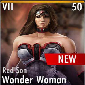 ✄ Red Son Wonder Woman