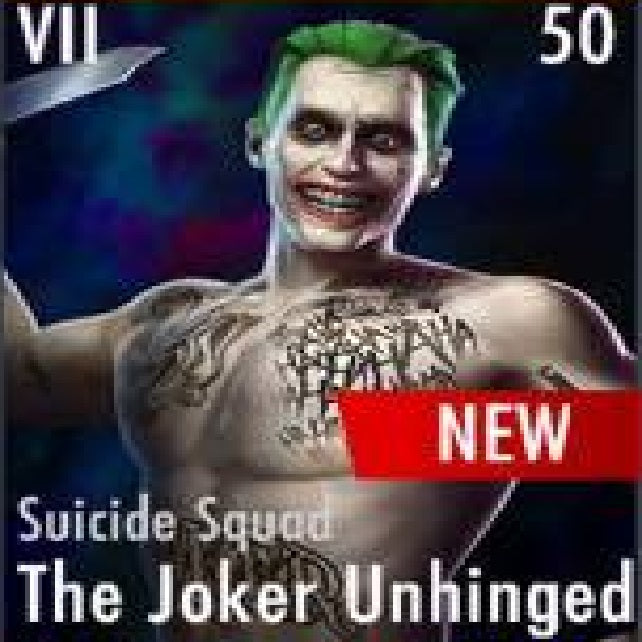 ✄ Suicide Squad The Joker Unhinged
