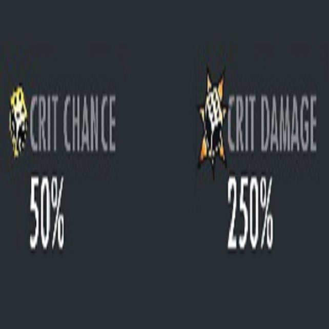 ✄ Maxed Crit Chance And Crit Damage For Any Character