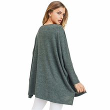 Load image into Gallery viewer, Forest Green Long Sleeve Top