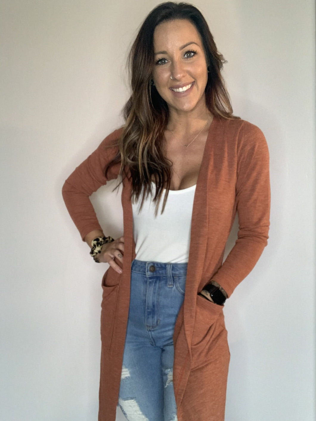 Copper Cardigan