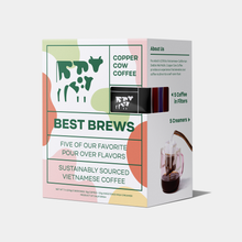 Load image into Gallery viewer, Copper Cow Coffee Best Brews Latte Sampler