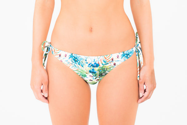 Copacabana Tie Side Pant - Botanical