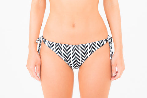 Copacabana Tie Side Pant - Monochrome