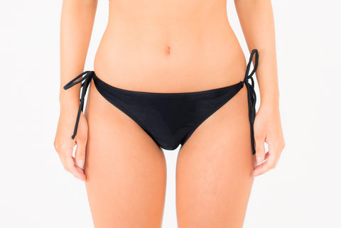 Copacabana Tie Side Pant - Black