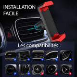 Support Smartphone Voiture Aeration