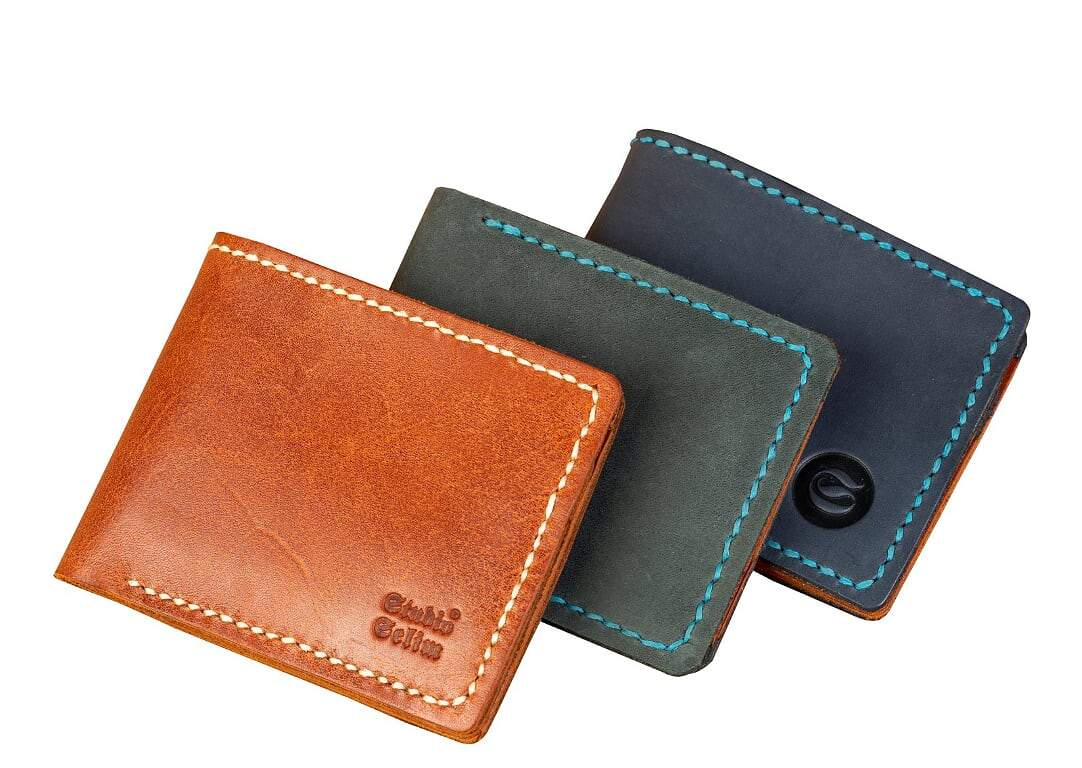 Leather wallet for men - iRead