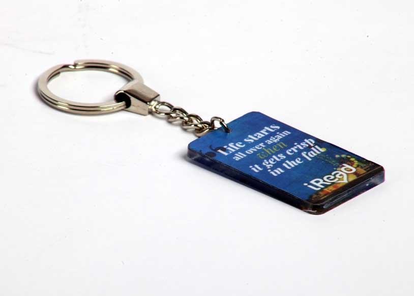 "Acrlyic Key Chain ""The Great Garsby"" - iRead"