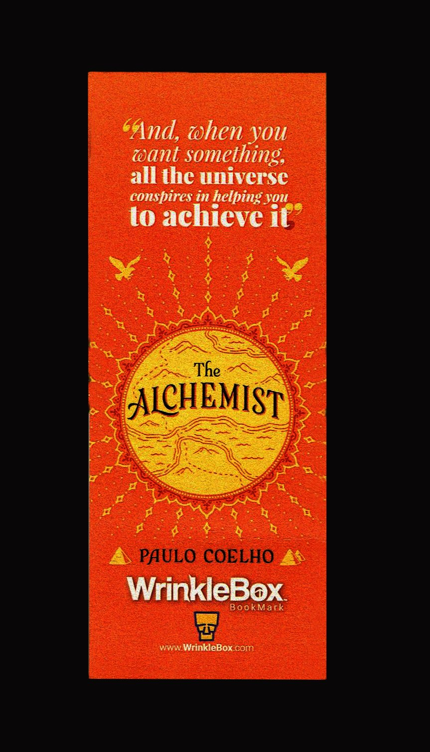 The Alchemist bookmark - iRead