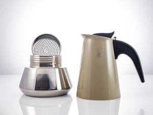 Load image into Gallery viewer, PEZZETTI Moka Pot: Crem