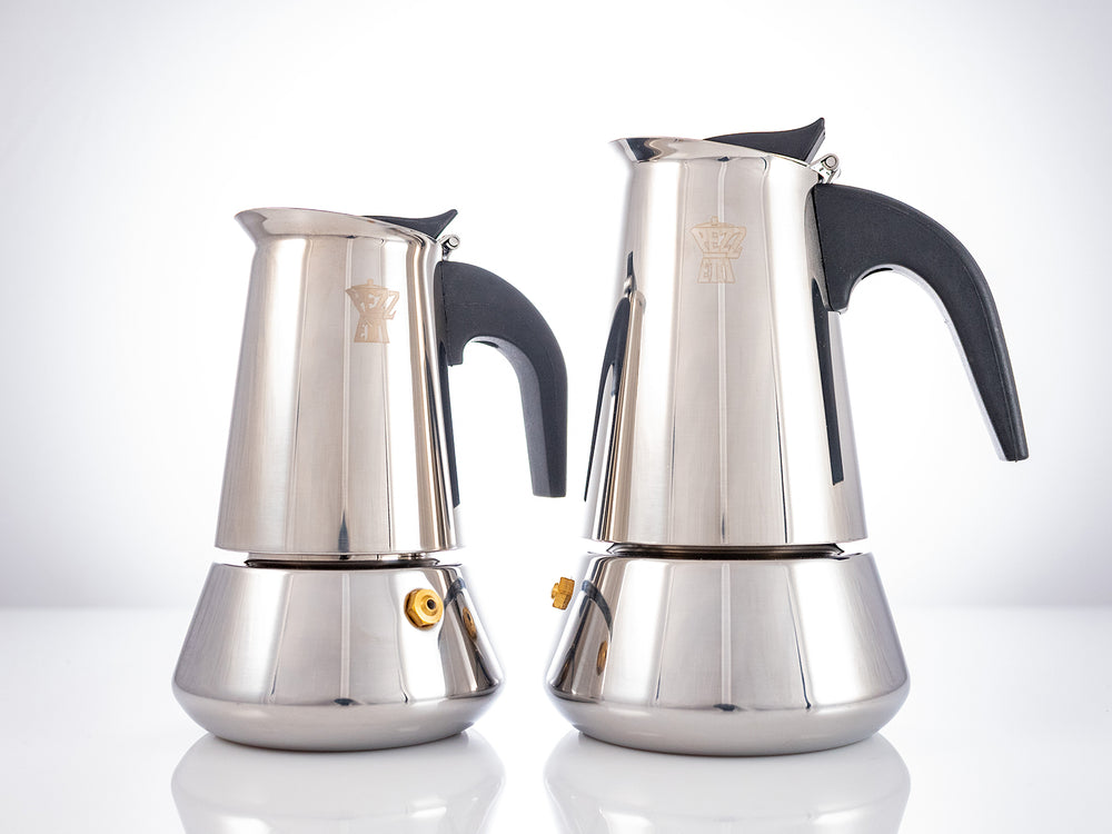 Load image into Gallery viewer, PEZZETTI Moka Pot: Argintiu