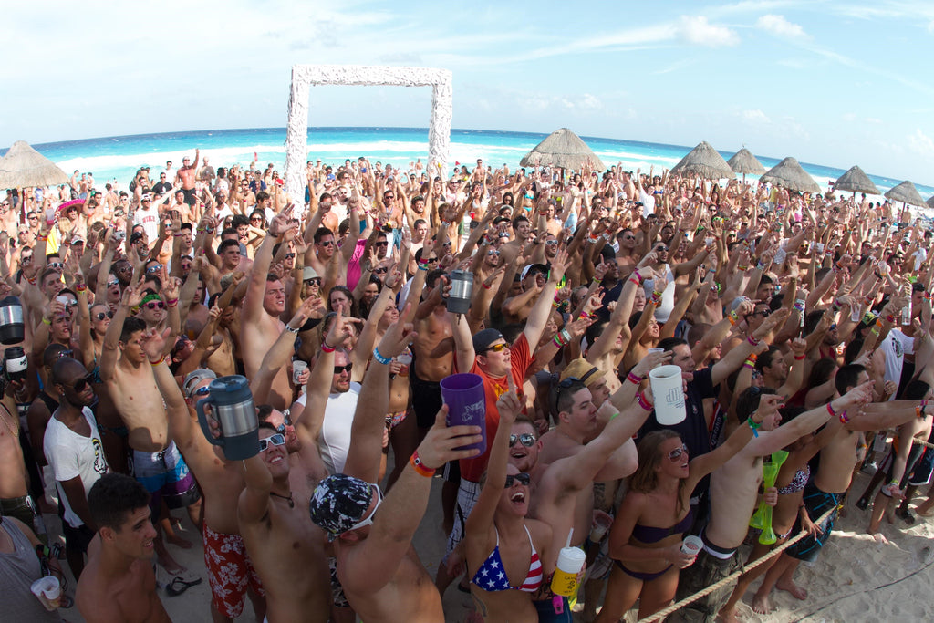 6 Clubs de Playa en Cancún perfectos para Spring Break en Cancun