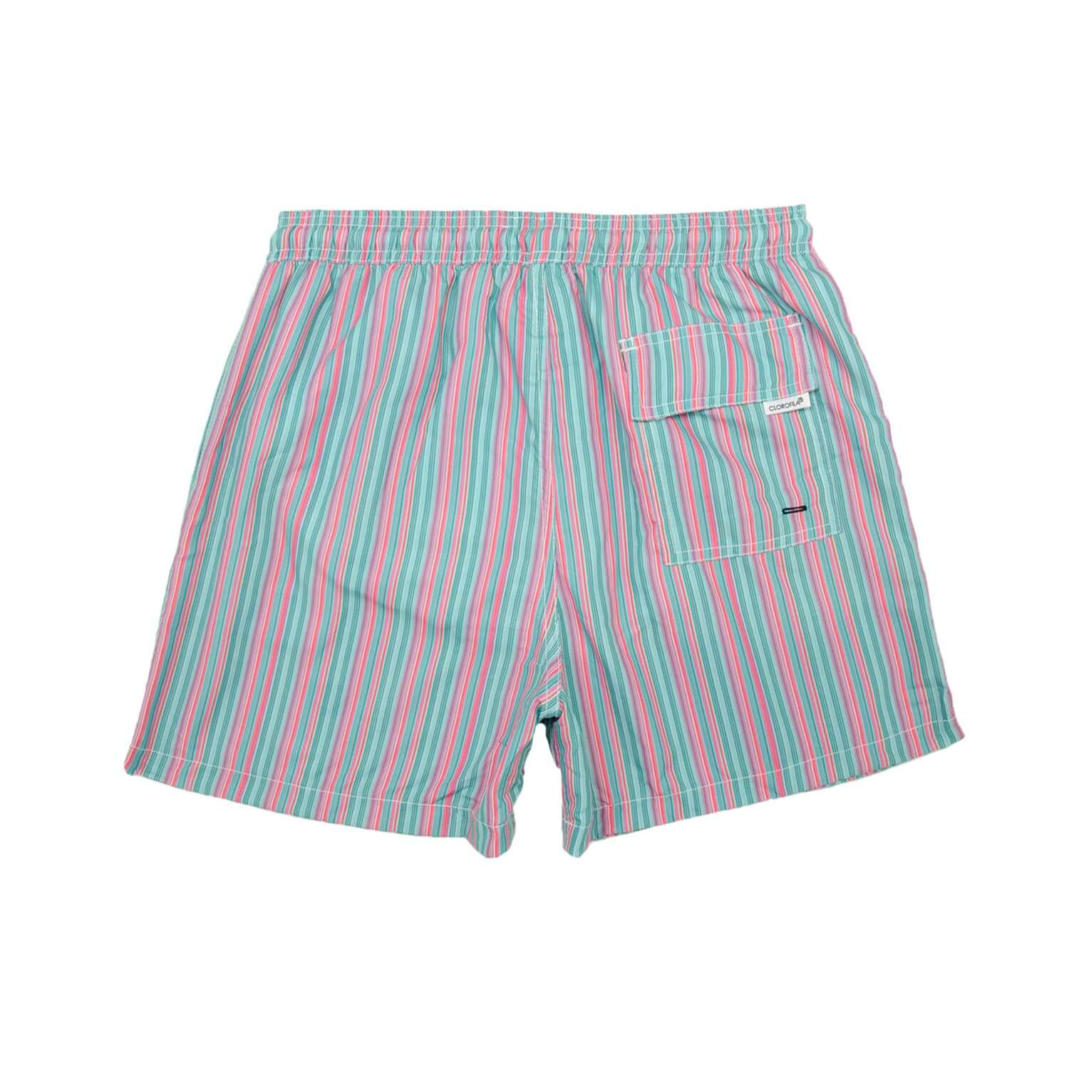 STRIPES JADE PINK - Clorofila Sea Wear