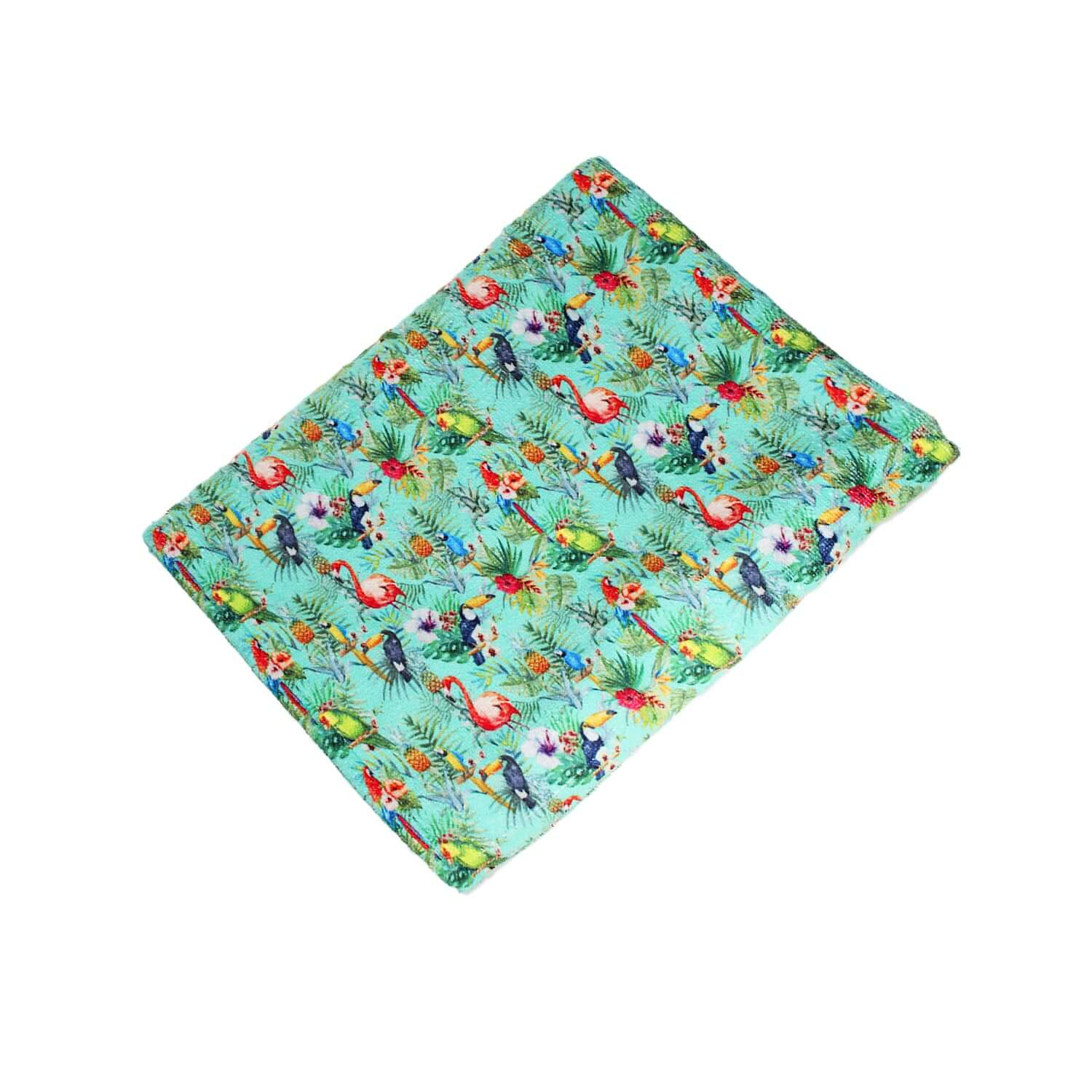 PRINTED TROPICAL TOWEL - Clorofila Sea Wear