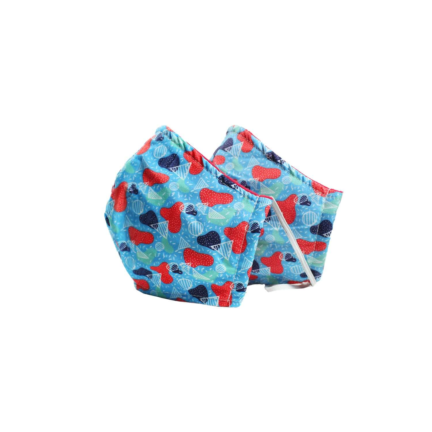 GOLF BLUE FASE MASK PACK OF 2 - Clorofila Sea Wear