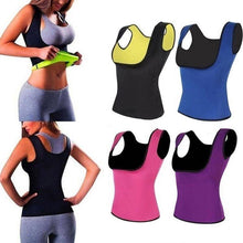 Load image into Gallery viewer, Women Neoprene Underbust Sweat Sauna Vest
