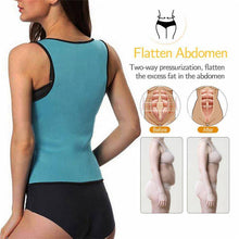 Load image into Gallery viewer, Neoprene Tank Top Slim Slimming Body Shaper with Zipper