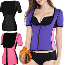 Load image into Gallery viewer, Sweat Tank Top Shaper for Women with Zipper