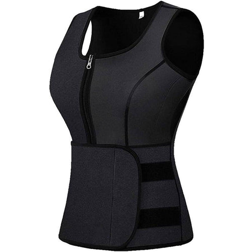 Waist Trainer Corset Trimmer Vest with Belt for Women-Waist Trainer-Sassywaist