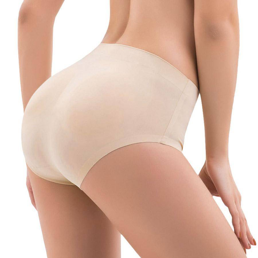 Butt Lifter Fake Ass Briefs Butt Hip Enhancer Seamless Control Panties-Sassywaist