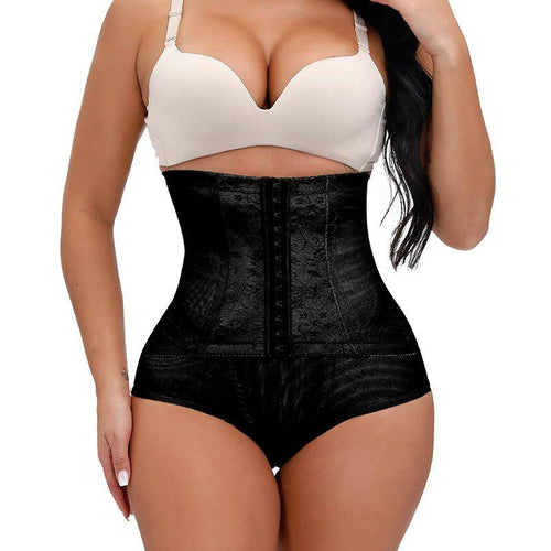 High Waisted Waist Trainer Underwear Butt Lifter Firm Stomach Cincher