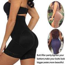 Load image into Gallery viewer, Invisible High-waisted Shapewear Butt Lifter Thigh Slimmer Underwear