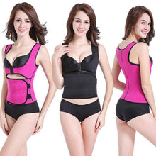 Load image into Gallery viewer, Women Underbust Vest Waist Trainer With Zipper