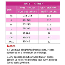 Load image into Gallery viewer, Women Waist Training Corsets/Cincher Zip & Hook Hourglass Body Shaper-Body Shaper-Sassywaist