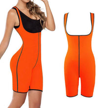 Load image into Gallery viewer, Neoprene Full Body Shaper For Women With Shorts