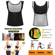 Load image into Gallery viewer, Sauna Suit Workout Vest Gym Pants Sweat Suits