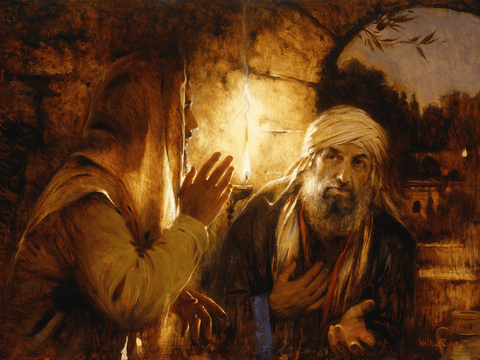 Nicodemus Came to Jesus by Night