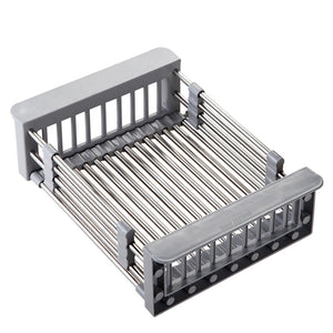 Expandable Sink Drainer Rack