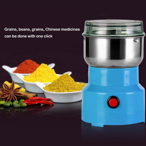 Electric Auto-Mill: Multi Purpose Coffee Bean, Pepper, Salt Grinder