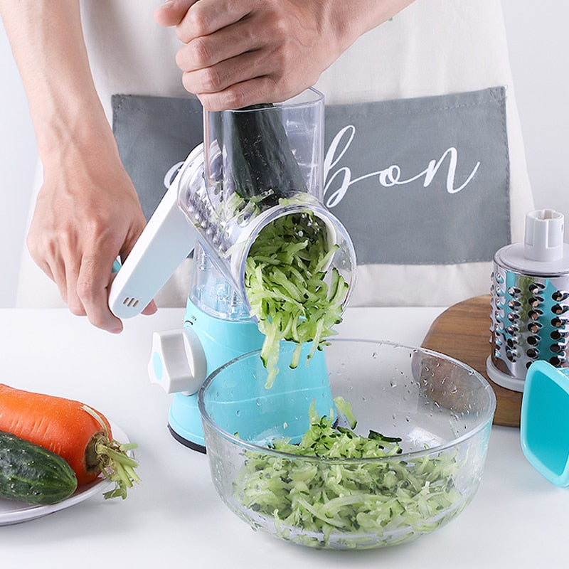 3 in 1 MULTI-FUNCTIONAL VEGETABLE SLICER & CUTTER