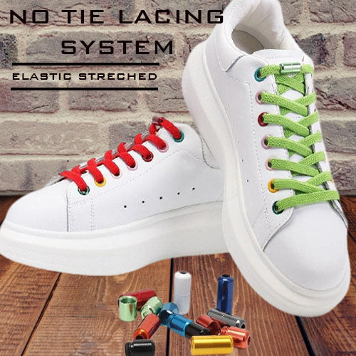 MC No Tie Shoelaces For Children & Adults