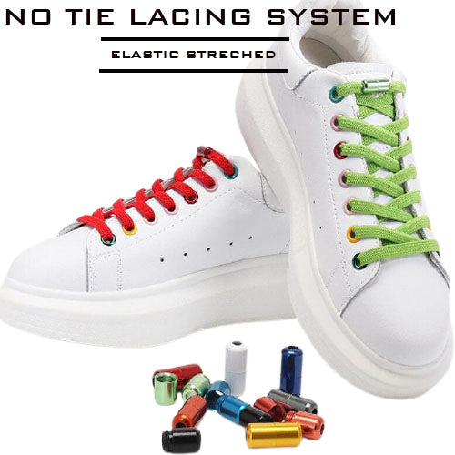 LZ Elastic No Tie Shoelaces
