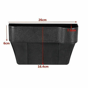 Universal Auto Car Seat Crevice Storage Box Cup Phone Holder Organizer
