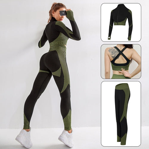 Yoga Suit - Bra Shirt Pants