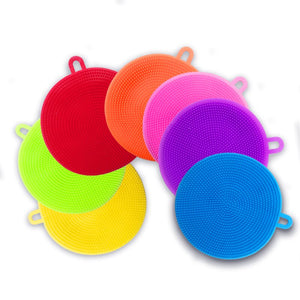 Silicone Scouring Sponge